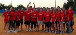 ['Corporate Jets' Win Bragging Rights in Kickball Tourney]