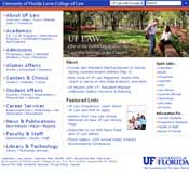 UF Law web site