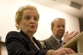[Madeleine Albright]
