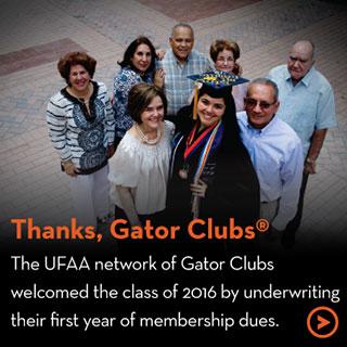 Thanks, Gator Clubs