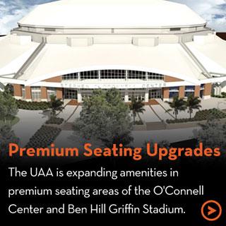 Premium Seating Upgrades