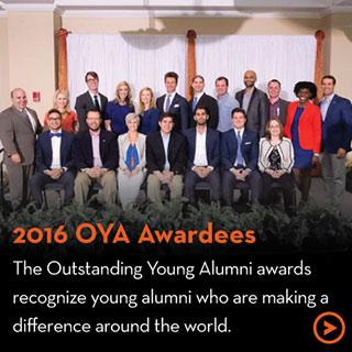 2016 OYA Awardees