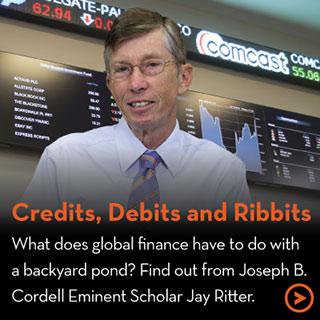 Credits, Debits and Ribbits