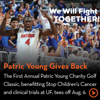 Patric Young Gives Back