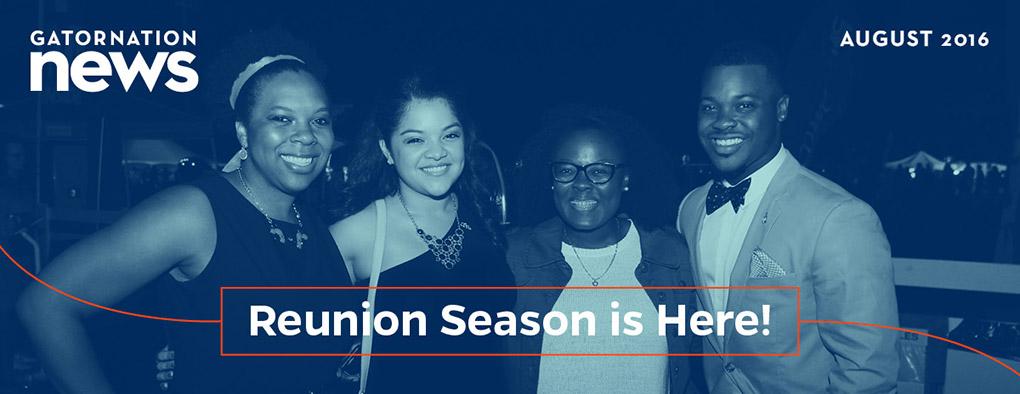 Reunion Season is Here!
