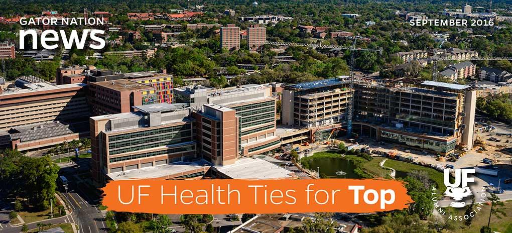 UF Health Ties for Top