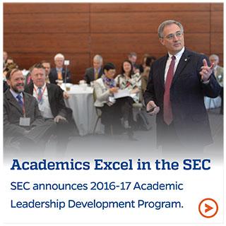 Academics Excel in the SEC