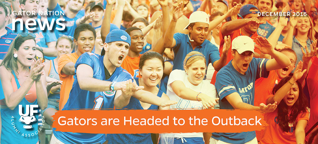 Gators are Headed to the Outback