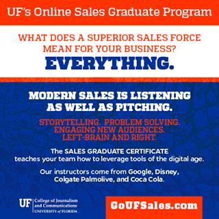 UF Online Sales Graduate Program