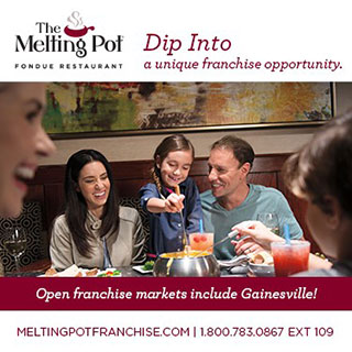 The Melting Pot - Open franchise markets include Gainesville!
