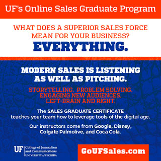 UF's Online Sales Graduation Program